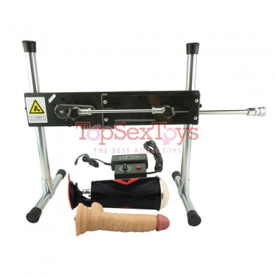 Premium Sex Machine Love Machine With Dildo and Masturbation Cup for Male Masturbation