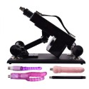 Sex Machine Female Masturbation Machine Gun Automatic Retractable Gun Black